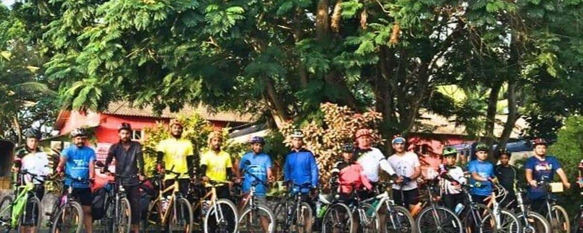 Support Ride to Cyclists from Chennai
